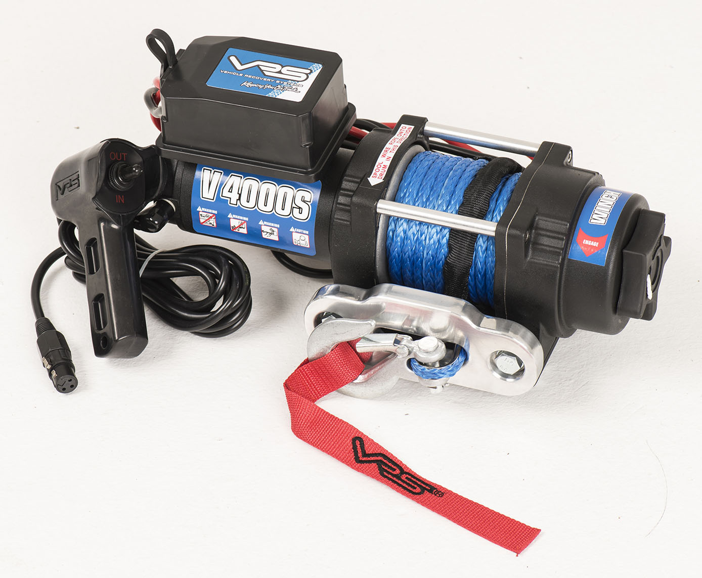 Synthetic Rope Utility Winch - 4000lbs